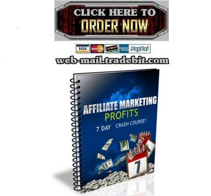 Product picture Affiliate Marketing Profits Crash Course