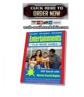 Product picture Entertainments for Home, Church, and School
