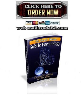 Product picture The Secrets Behind Subtle Psychology